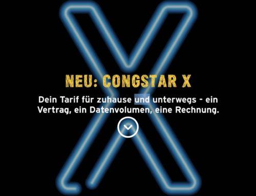 Congstar X – Congstar kombiniert Homespot mit Allnet Flatrate